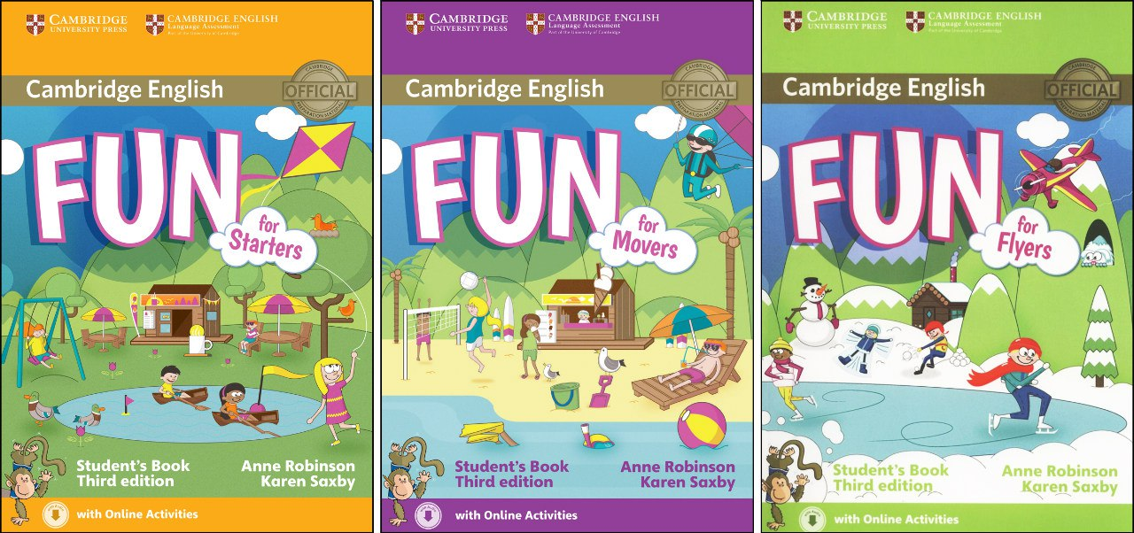 Cambridge english fun for starters movers flyers 3rd edition